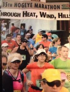 Lalita's 1st Hogeye - the half marathon in